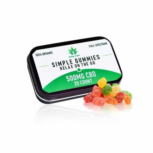500mg CBD Gummies (20 Count)